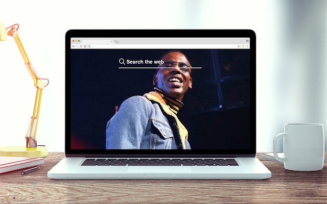 Young Dolph New Tab Theme