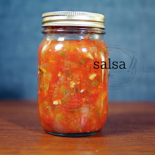 Salsa Recipe (for Canning).