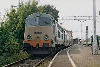 Photo: SU45-185, Toruń Główny - Malbork {Toruń Główny; 2003-09-09}