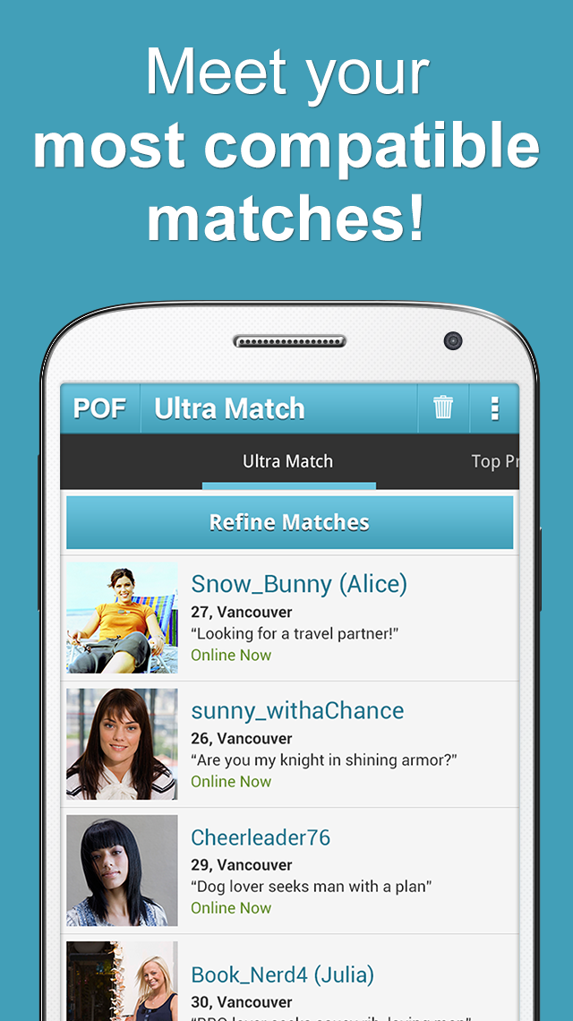 POF Free Dating App screenshot #6