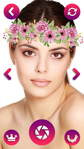 Flower Crown Photo Editor - Snappy Photo Filters  screenshots 6