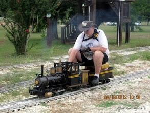 Photo: Steamer Bill Smith on LNR 13.  HALS 2012-0818 David Hannah photo