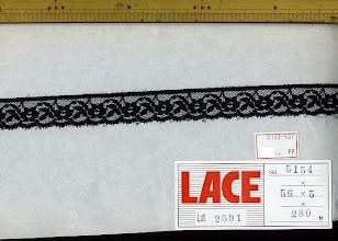 Photo: №5154-907ラッセル黒:巾21mm