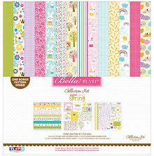 Bella Blvd Collection Kit 12X12 - Sweet Sweet Spring UTGÅENDE