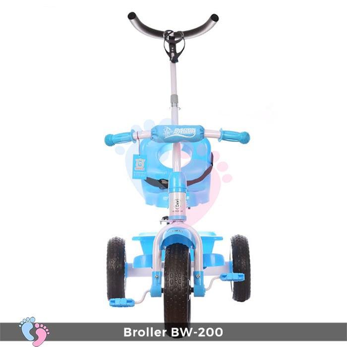 Xe đạp 3 bánh Broller XD3-200 có cây đẩy 7