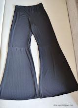 Photo: штаны из трикотажа для тренеровок