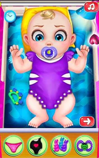 mommys new baby birth - pregnant games Screenshot