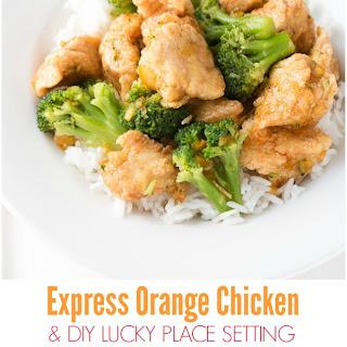 Express Orange Chicken
