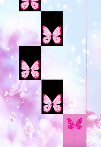 Pink Butterfly Piano Tiles 2018 for PC