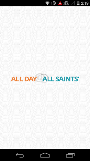 All Day at All Saints