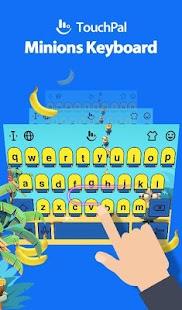 Sexy Yellow Mini Banana Keyboard Theme - náhled