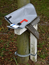 """Photo: I saw a mail carrier delivering to this """"box"""" on Saturday. Neither snow nor rain nor heat nor gloom of night stays these couriers from the swift completion of their appointed rounds. +Mailbox Monday curated by +Patrice Christian& +Gene Bowker #mailboxmonday"""