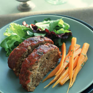 Classic Beef and Sausage Meatloaf.