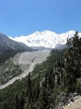 Photo: NANGA PARBAT GLACIER  AND MOUNTAIN......THE KILLER MOUNTAIN