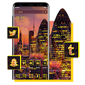 London Evening Launcher Theme icon