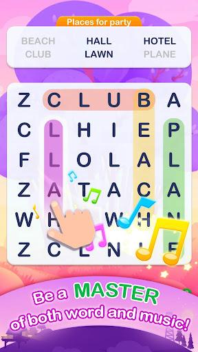 Word Search Pop - Free Fun Find & Link Brain Games 1.2.2 Cheat screenshots 2