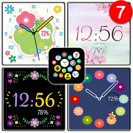 Vibrant Summer Watch Face Pack 10 for Bubble Cloud