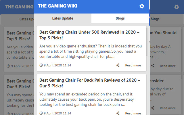 The Gaming Wiki - Latest News Update