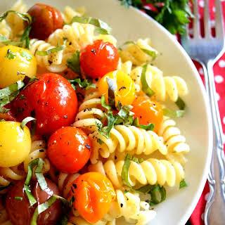 Barefoot Contessa's Herb and Garlic Tomatoes.
