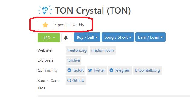 toncrystal ton freeton coingecko