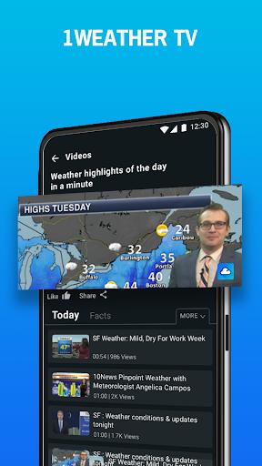 1Weather : Forecasts, Widgets, Snow Alerts & Radar screenshot 7