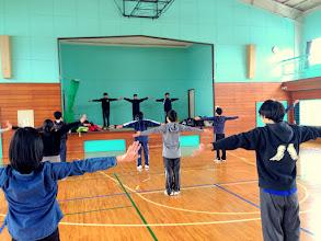 写真: ラジオ体操~