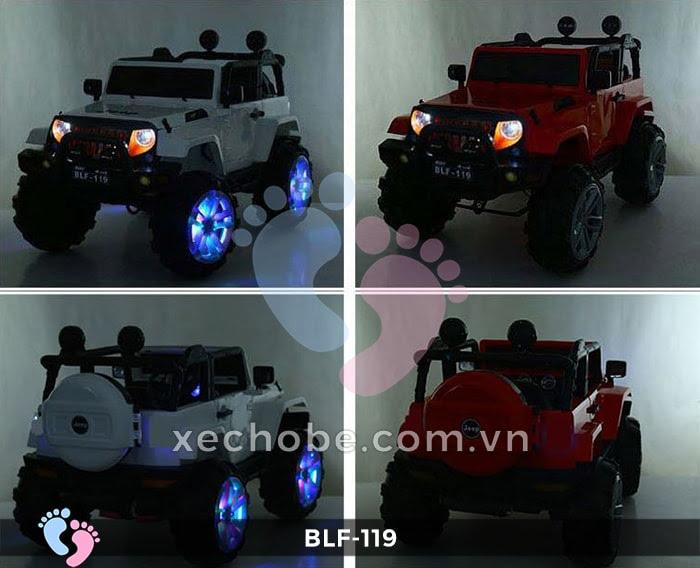 Xe ô tô điện địa hình BLF-119 1