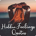 Hidden feeling Quotes:Express Feelings status icon