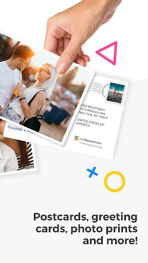 MyPostcard Photo Postcard App and Greeting Cards screenshot 2