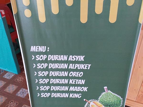 Durian Mr Uchok Tenda Kuliner Bogor