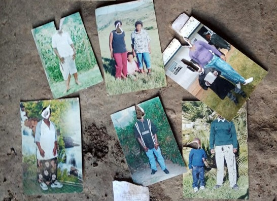 Photographs found near the bodies of the mother and five children killed in Elliotdale had the faces of the victims scratched out.