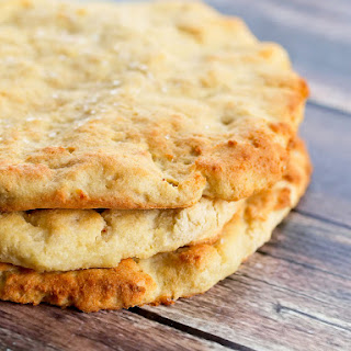 Easy Homemade Flatbread (Gluten-free and Dairy-free).