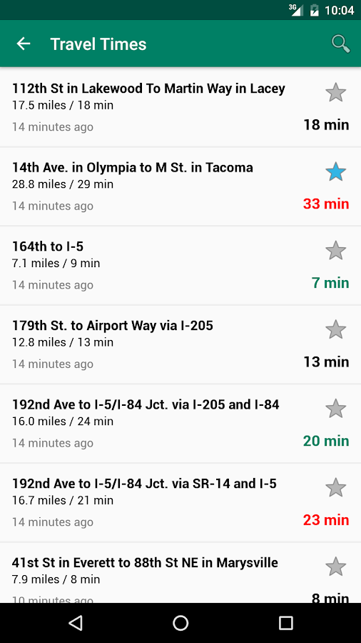 WSDOT- screenshot