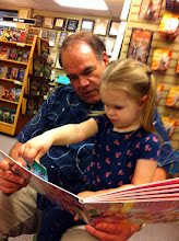 Photo: Reading with Birdie at Deseret Book.