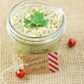 Lemon Artichoke Pesto Recipe (Vegan, Gluten Free and Low Sugar)