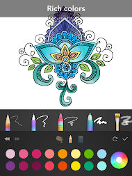 Mandala Coloring Book APK Screenshot Thumbnail 12