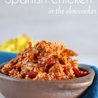 Spanish Chicken And Rice Slow Cooker Recipes