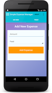 Simple Expense Manager- screenshot thumbnail