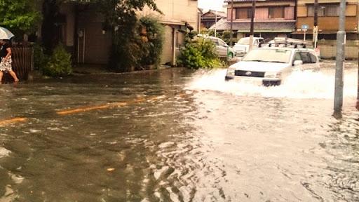 豪雨の被害②