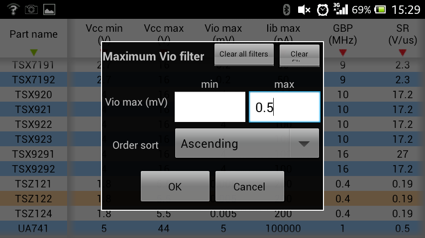 ST op-amps- screenshot