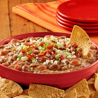 Fiesta Refried Bean Dip.