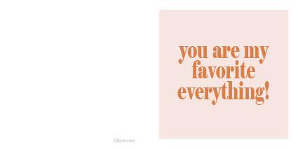 Favorite everything