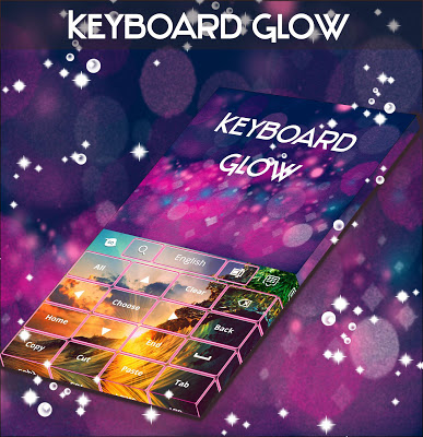 Keyboard Glow Pink - screenshot