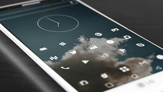 Flight Lite - Minimalist Icons screenshot 12
