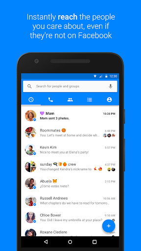 Messenger screenshot 1