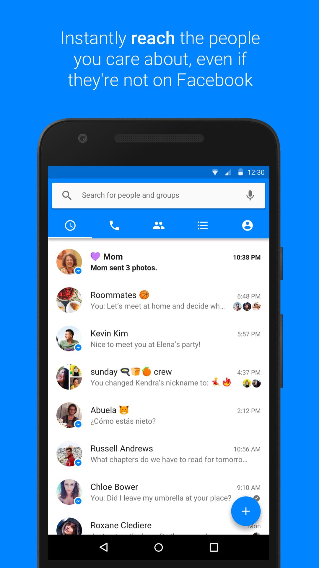 Messenger screenshot #3