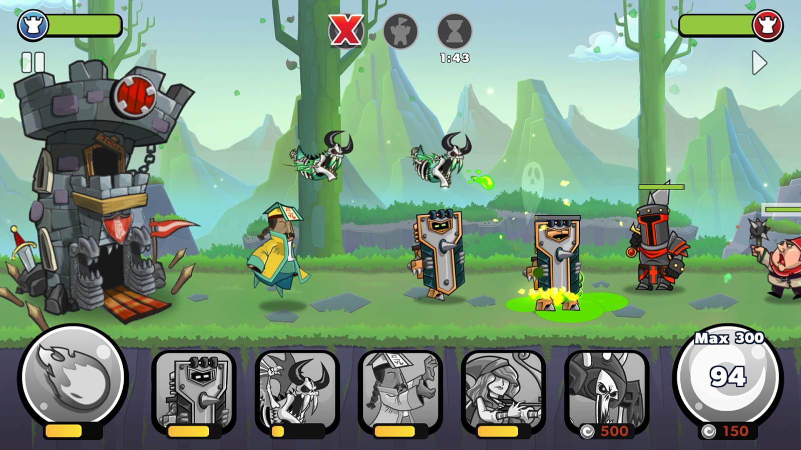 Tower Conquest- screenshot