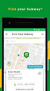 SUBWAY® Screenshot