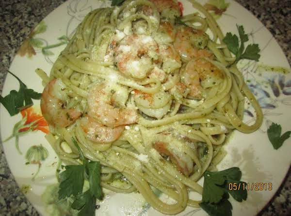 Basil Pesto Pasta W/shrimp Recipe
