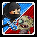 ninja vs zombies icon